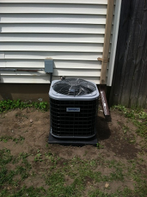Corner Install of AC Unit